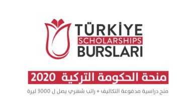 Photo of تركيا : منحة الحكومة التركية للعام الدراسي 2020 – 2021